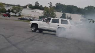 dodge durango burnout and drift