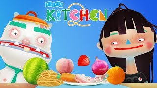 Fun Kitchen Cooking Kids Games - Toddlers Learn Cooking For Children - Toca Kitchen 2