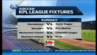 KTN Sports: KPL weekend fixtures