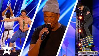 America's Got Talent 2017 Week 6 Auditions | Mike Yung, The Quiddlers & More!!