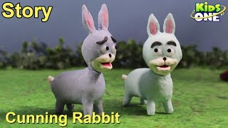 Cunning Rabbit Story | Panchatantra Stories for Kids | 3D Animated English Stories - KidsOne