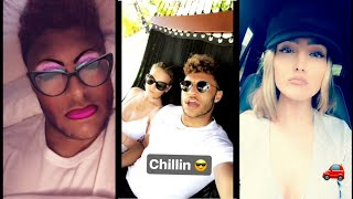 Alex Oxlade-Chamberlain and Perrie Edwards cute moments together