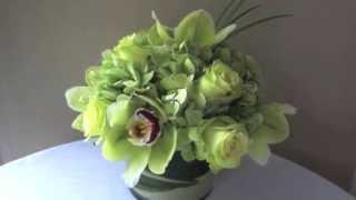 B. Ray Floral Design's unique flower arrangemets