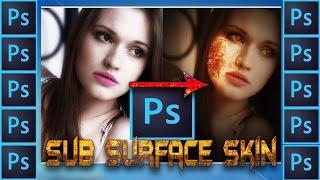 Sub Surface Skin || Photoshop Manipulation || Photoshop Tutorial