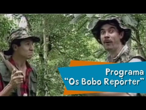 Programa Os Bobo Repórter Nilton Pinto e Tom Carvalho A Dupla do Riso