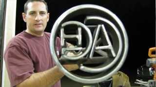 How to Make a Custom Branding Iron!!