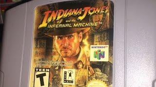 Indiana Jones and the Infernal Machine (N64) James & Mike Mondays