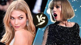Taylor Swift's Former Squad Member Karlie Kloss Uses a Katy Perry Song to DISS Her!