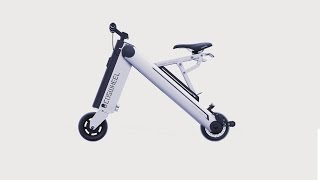 World's Smallest Electric Bike - Coswheel A-ONE