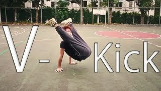 Breakdance: V-Kick