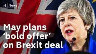 Theresa May plans to put