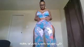 أكبر مؤخرا رقص شعبي مغربي ساخن لسمراء مدمرة