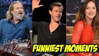 Bad Times At The El Royale Bloopers and Funny Moments(Part-1) - Chris Hemsworth Funny