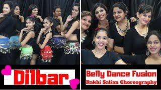 DILBAR| Satyameva Jayate |Nora Fatehi|ARABIC & GYPSY BELLY DANCE FUSION| Rakhi Salian