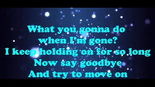 When I'm Gone by Before You Exit (Lyrics Video)