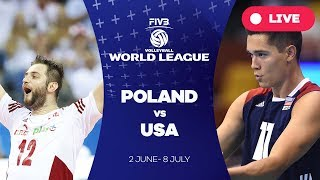 Poland v USA - Group 1: 2017 FIVB Volleyball World League