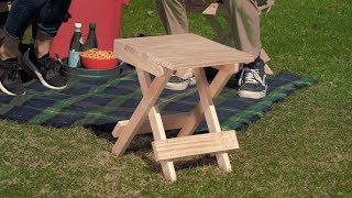 How to Build a Folding Stool - Saturday Morning Workshop