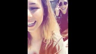 Ally & Stevie Snapchat 3-23