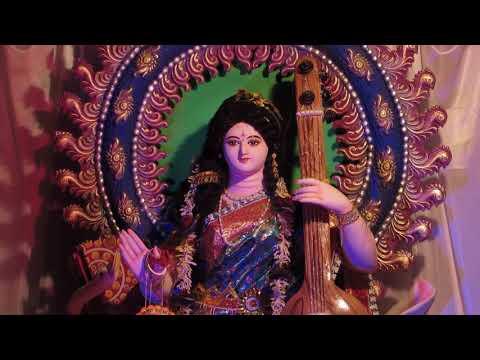 Xxx Mp4 Saraswati Puja Pandal In Sonakhali Ghatal Kolkata Decoration Theme I Art Students Club 12 3gp Sex