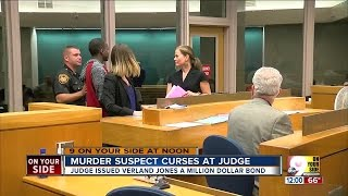 Murder Suspect Curses At Judge