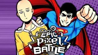 Saitama VS Superman - EPIC PIXEL BATTLE [EPB SAISON 2]