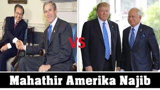 5 perbezaan Najib Razak dan Mahathir bila jumpa Amerika - nampak tak?