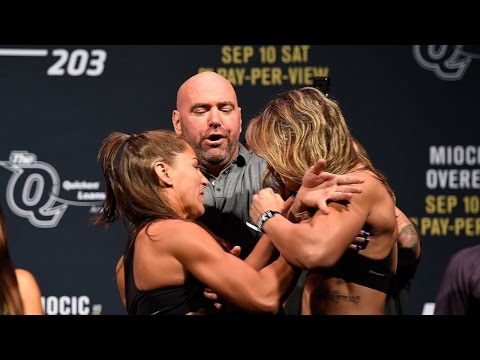 UFC 203 Weigh-In: Jessica Eye vs. Bethe Correia