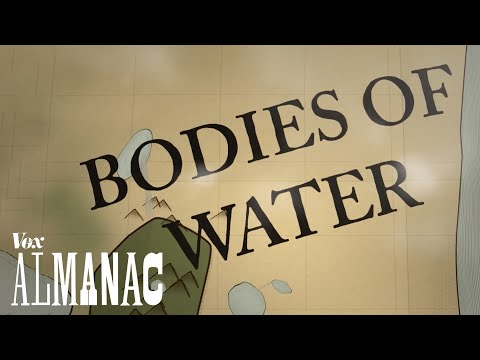 What the names for bodies of water mean