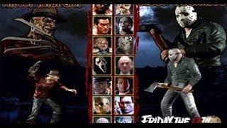 TERRORDROME THE GAME  Pelea de personajes de Terror