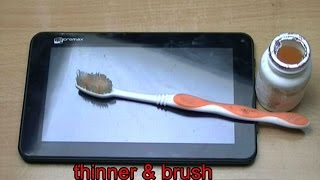 Android Tablet dead or hang solution. PCB cleaning