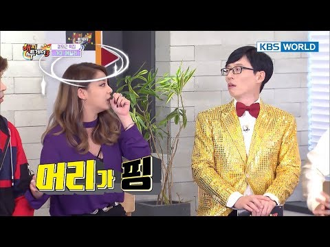 Ailee almost fainted on stage due to excessive dieting? [Happy Together/2018.01.11]