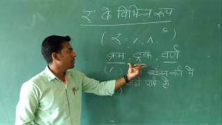 Hindi varnamala- Ra ki matra ( 'र्' की मात्रा / 'र्' के विभिन्न रूप )