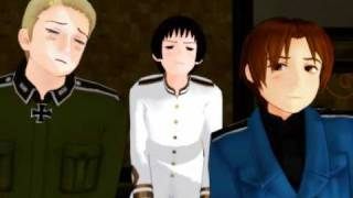 [MMD x APH] - Italy Teaches the Art of Goofing Off