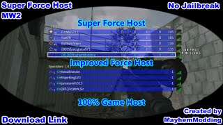 Mw2 CFG Code [USB] Super Force Host [Official]
