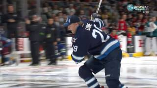 Patrik Laine vs Brent Burns Hardest Shot Competition
