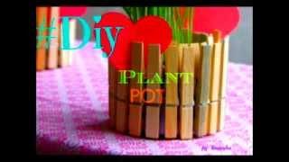 DIY : Plant Pot, Candle Holder :) ♡