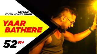 Yaar Bathere Alfaaz Feat Yo Yo Honey Singh Full Song Hd  Punjabi Songs  Speed Records