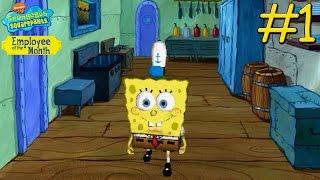 SpongeBob SquarePants: Employee of the Month - PC Walkthrough Gameplay Chapter 1