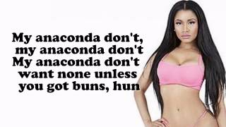 Nicki Minaj '''Anaconda