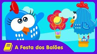 Galinha Pintadinha Mini - Historinha - Festa dos Balões