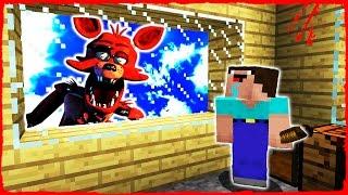 Minecraft FNAF - NOOB vs FOXY (Animatronic Trolling)