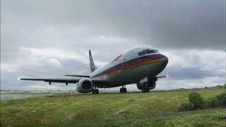 Miraculous Plane Landing on New Orleans Levee