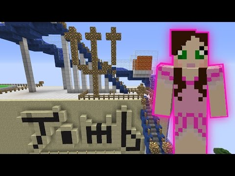 Minecraft SKYTASTIC PARK TOMB OF DEATH RIDE 2