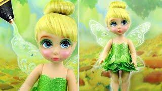 TINKER BELL FAIRY NEW MAKE UP 💄 Custom TINKERBELL PRINCESS Doll  Kids Makeup & Dress Up