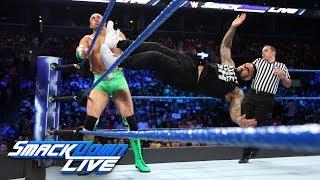 The Hype Bros vs. The Usos: SmackDown LIVE, Aug. 22, 2017