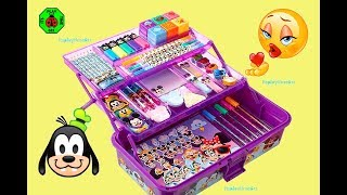 KIDS ART SET | Disney Emoji Deluxe Art Set: Creative Activity For Kids | itsplaytime612