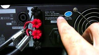 Cómo sacar la máxima potencia de la etapa o amplificador - ADAPTACIÓN e IMPEDANCIA MÍNIMA DE CARGA