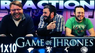 Game of Thrones 1x10 REACTION!!
