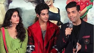 Karan Johar On How He Cast Janhvi Kapoor And Ishan Khatter In Dhadak | Sairat Remake