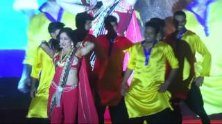 Manasi Naik performing in Third Bell Entertainment Event at Manchar